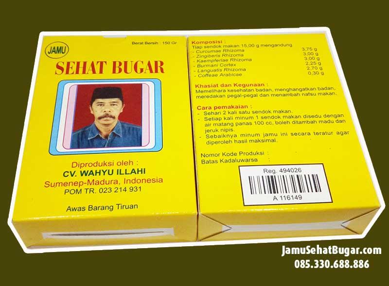 Distributor Jamu Madura CV Wahyu Ilahi Murah