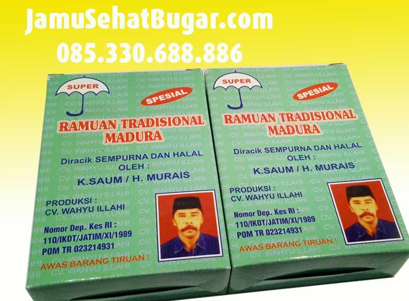 Distributor Jamu Madura CV. Wahyu Ilahi Murah