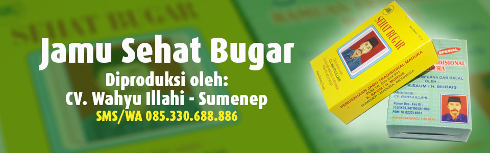 Jamu Sehat Bugar Racikan CV. Wahyu Illahi Sumenep